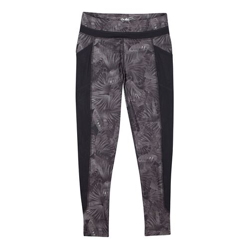 Womens Saucony Bullet Tights & Leggings Technical Tops - Carbon S
