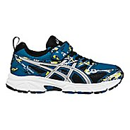 Kids ASICS Pre-Turbo Running Shoe - Blue/Silver 3Y