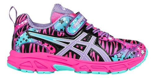 Kids ASICS Pre-Turbo Running Shoe - Pink/Lavender 12C