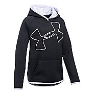 Under Armour Girls Armour Fleece Highlight Half-Zips & Hoodies Technical Tops