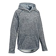 Under Armour Girls Armour Fleece Novelty Highlight Half-Zips & Hoodies Technical Tops