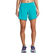 Womens Saucony Run Lux Unlined Shorts