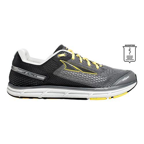 Mens Altra Instinct 4.0 Running Shoe - Grey/Yellow 10.5
