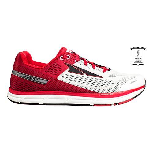 Mens Altra Instinct 4.0 Running Shoe - White/Red 14
