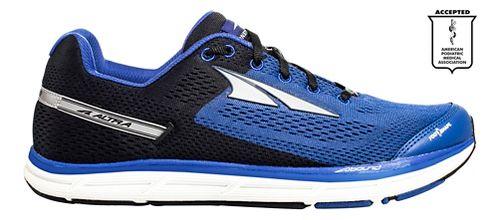 Mens Altra Instinct 4.0 Running Shoe - Blue/Black 10.5