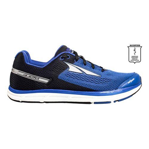 Mens Altra Instinct 4.0 Running Shoe - Blue/Black 8.5