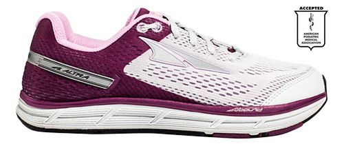 Womens Altra Intuition 4.0 Running Shoe - Grey/Purple 9