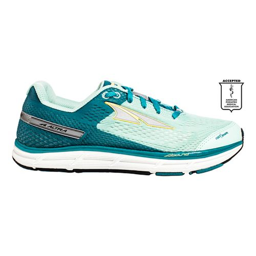 Womens Altra Intuition 4.0 Running Shoe - Ocean/Teal 5.5