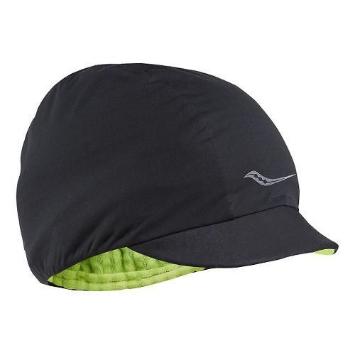 Saucony Razor Hat Headwear - Black S/M