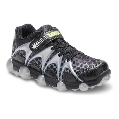 Stride Rite Leepz Running Shoe - Black/Grey 10C