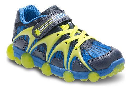 Stride Rite Leepz Running Shoe - Blue/Lime 8C