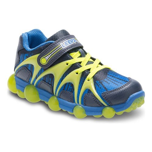 Stride Rite Leepz Running Shoe - Blue/Lime 9.5C
