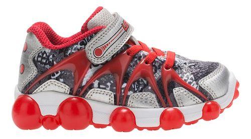 Stride Rite Leepz Running Shoe - Red/Silver 7.5C