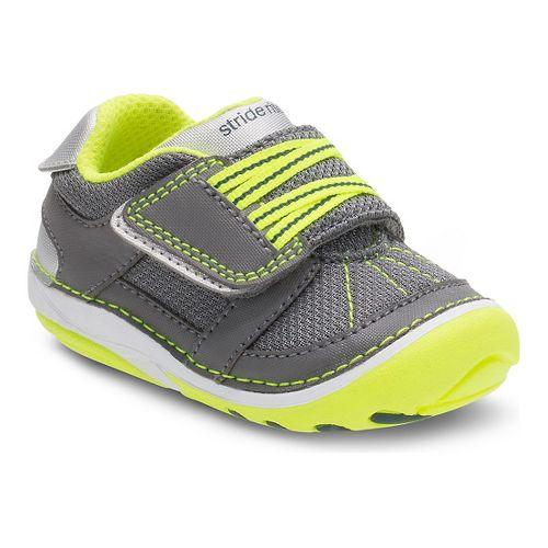 Kids Stride Rite SM Booker Casual Shoe - Grey 4.5C