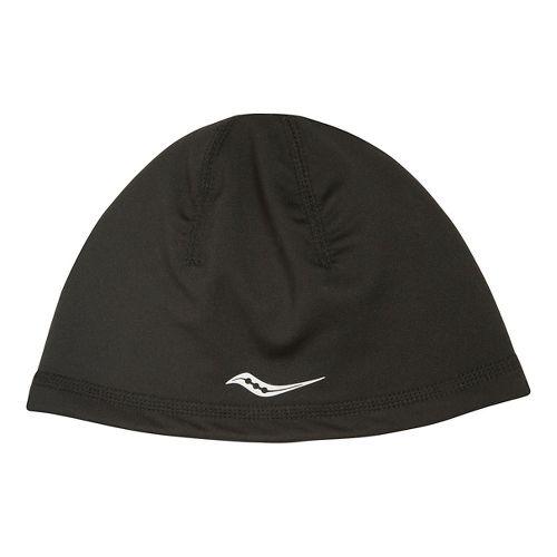 Saucony Omni Ponytail Skull Cap Headwear - Black
