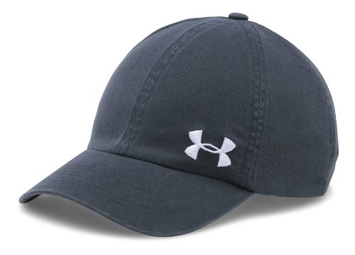 Womens Under Armour Armour Washed Cap Headwear - Stealth Grey