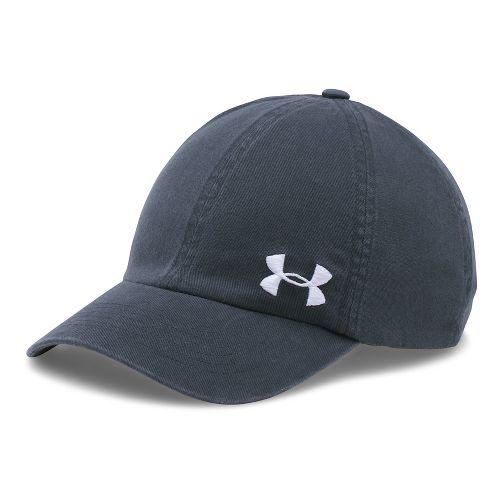 Womens Under Armour  Washed Cap Headwear - Stealth Grey
