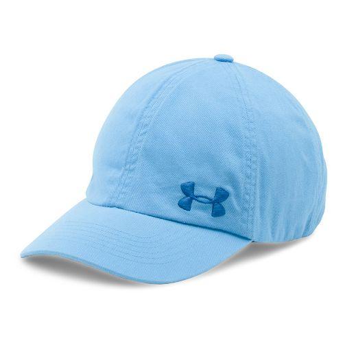Womens Under Armour Armour Washed Cap Headwear - Carolina Blue