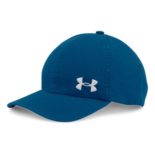 Womens Under Armour  Washed Cap Headwear - Heron