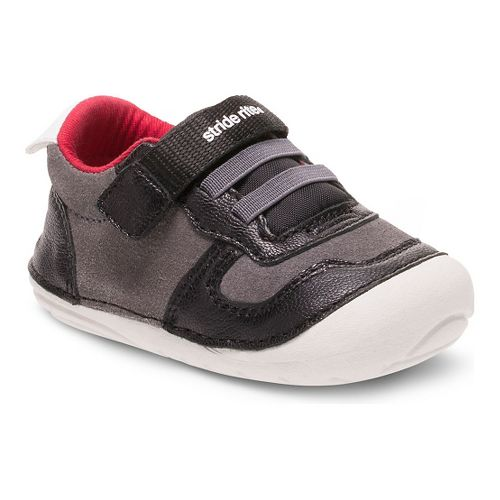 Kids Stride Rite SM Barnes Casual Shoe - Black 6C