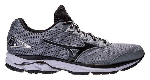 Mens Mizuno Wave Rider 20 Running Shoe - Grey/Black 11