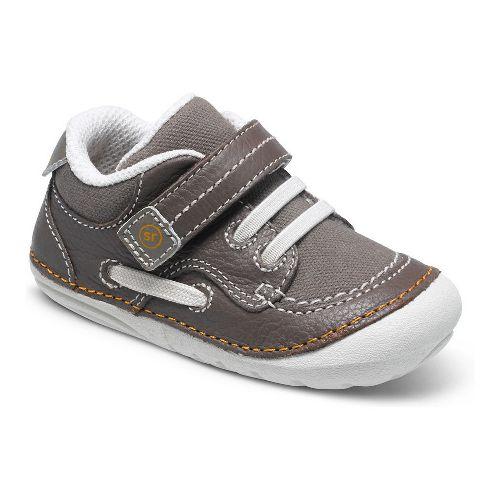 Kids Stride Rite SM Dawson Casual Shoe - Brown Multi 4C