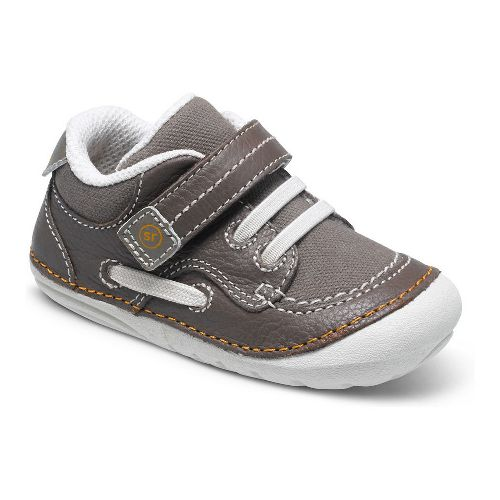 Kids Stride Rite SM Dawson Casual Shoe - Brown Multi 5C
