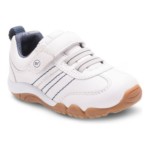Kids Stride Rite Prescott Casual Shoe - White 4C
