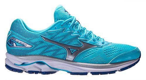 Womens Mizuno Wave Rider 20 Running Shoe - Blue 10