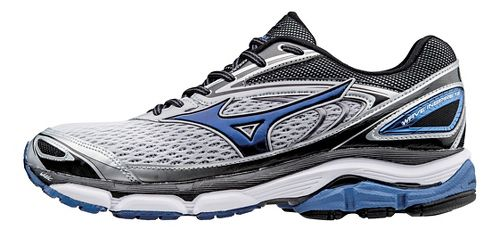 Mens Mizuno Wave Inspire 13 Running Shoe - Silver/Blue 12