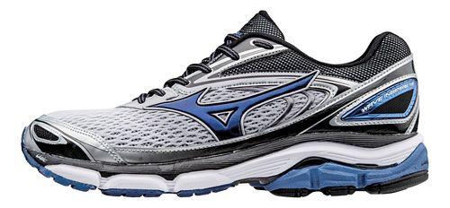Mens Mizuno Wave Inspire 13 Running Shoe - Silver/Blue 8.5