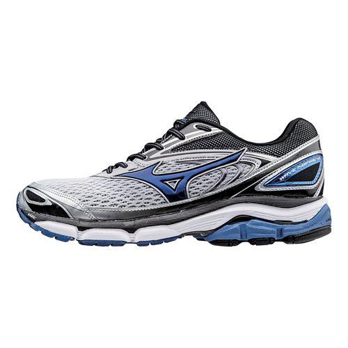 Mens Mizuno Wave Inspire 13 Running Shoe - Silver/Blue 8