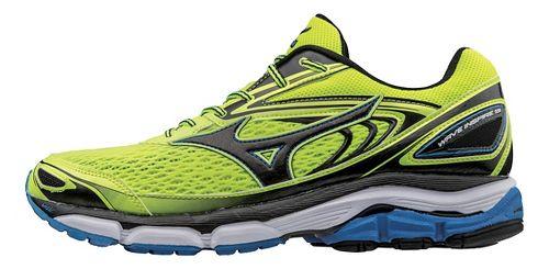Mens Mizuno Wave Inspire 13 Running Shoe - Yellow/Black 9.5