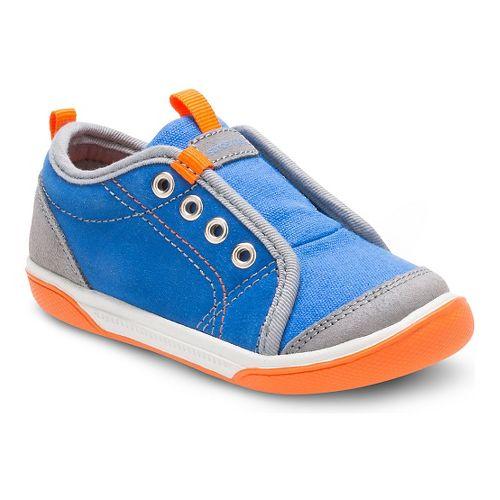 Stride Rite Boys Chet Casual Shoe - Blue 7.5C