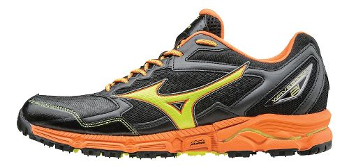 Mens Mizuno Wave Daichi 2 Trail Running Shoe - Grey/Orange 7.5