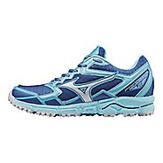 Womens Mizuno Wave Daichi 2 Trail Running Shoe - True Blue/Blue Topaz 10