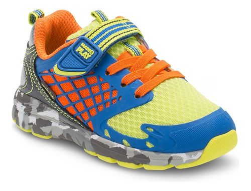 Stride Rite M2P Breccen Running Shoe - Royal/Lime 4C