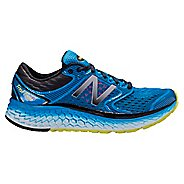 Mens New Balance Fresh Foam 1080v7 Running Shoe - Blue/Yellow 12.5