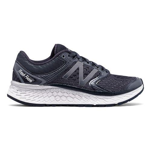 Womens New Balance Fresh Foam 1080v7 Running Shoe - Thunder/White 10