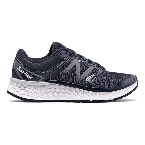 Womens New Balance Fresh Foam 1080v7 Running Shoe - Thunder/White 10.5
