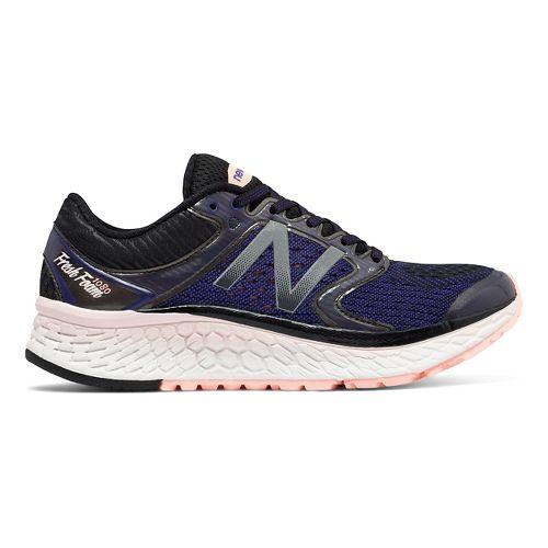 Womens New Balance Fresh Foam 1080v7 Running Shoe - Purple/Pink 6.5