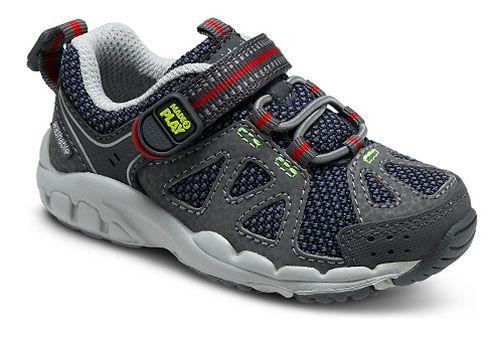 Kids Stride Rite M2P Ian Running Shoe - Navy/Grey 5.5C