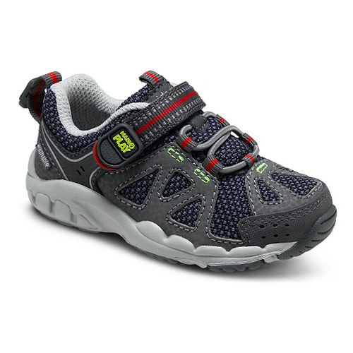 Kids Stride Rite M2P Ian Running Shoe - Navy/Grey 5C