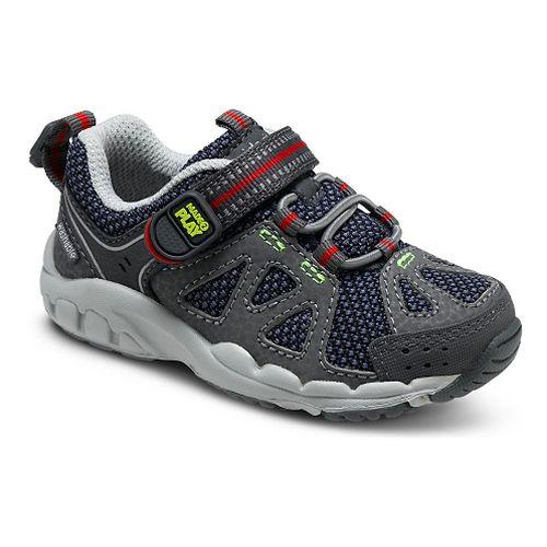 Kids Stride Rite M2P Ian Running Shoe - Navy/Grey 8C