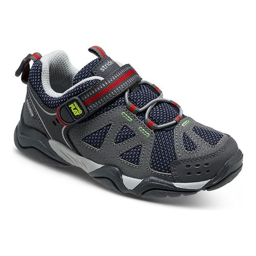 Kids Stride Rite M2P Ian Running Shoe - Navy/Grey 11.5C