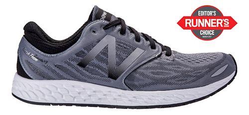 Mens New Balance Fresh Foam Zante v3 Running Shoe - Grey/Black 7.5