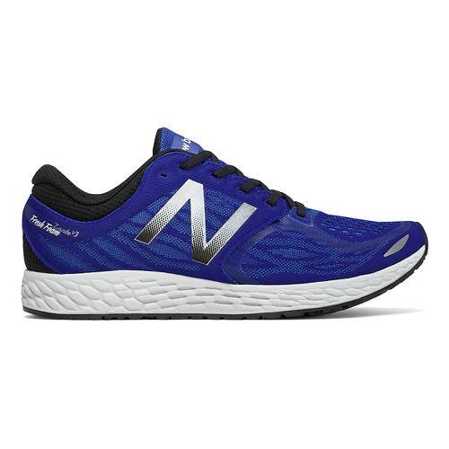 Mens New Balance Fresh Foam Zante v3 Running Shoe - Blue/Black 9