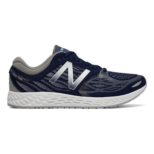 Mens New Balance Fresh Foam Zante v3 Running Shoe - Navy/Grey 12.5