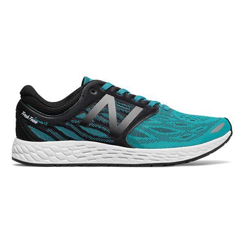Mens New Balance Fresh Foam Zante v3 Running Shoe - Pisces/Black 10