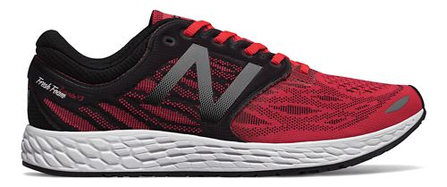 Mens New Balance Fresh Foam Zante v3 Running Shoe - Red/Black 9